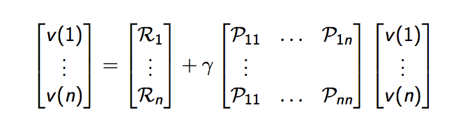 Vector Bellman Equation