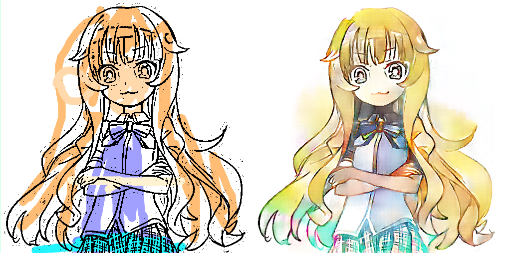 Deepcolor Automatic Coloring And Shading Of Manga Style Lineart