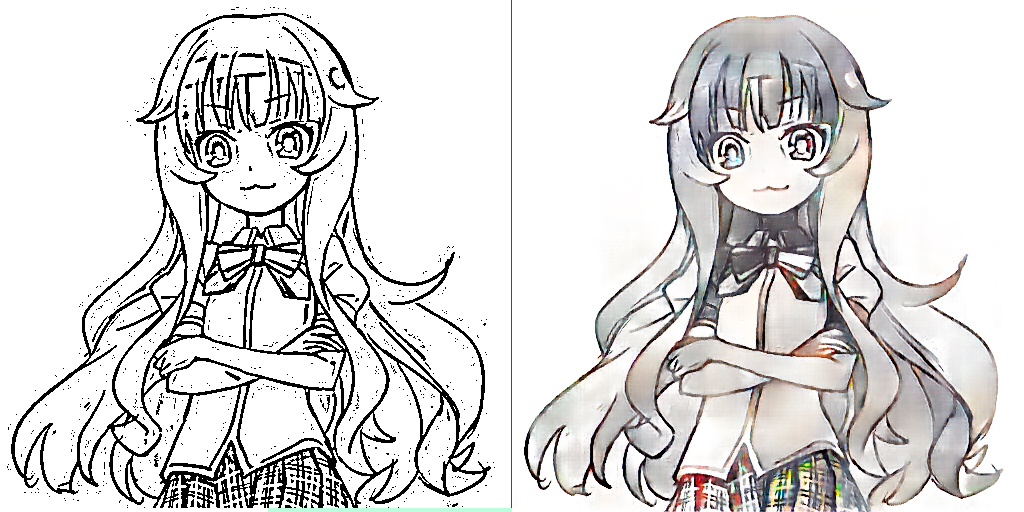 What Have They Done To Shade >> Deepcolor Automatic Coloring And Shading Of Manga Style Lineart